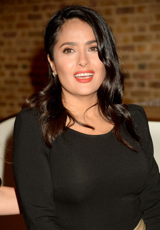 "Salma Hayek - ""Yugen"" by Martha Fiennes Exhibition VIP Preview in London 10/05/2018"