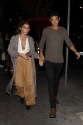 Sarah Hyland at Beauty & Essex in Hollywood 10/05/2018