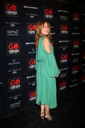 Sasha Alexander – GO Campaign Gala in Los Angeles 10/20/2018