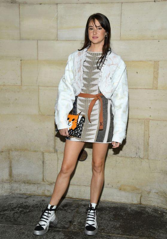 Shailene Woodley – Louis Vuitton Show, Paris Fashion Week 10/02/2018