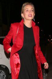 Sharon Stone at Craig