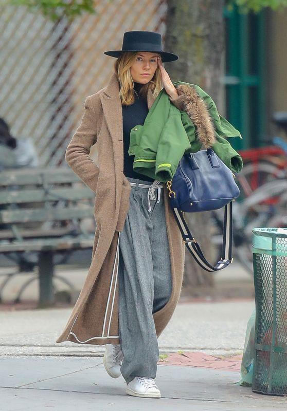 Sienna Miller Street Fashion 10/22/2018