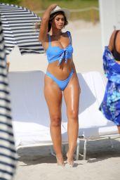 Sofia Jamora Bikini Photoshoot - Beach in Miami 10/22/2018