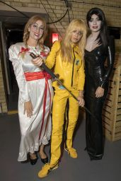 Stacey Solomon, Fearne Cotton and Holly Willoughby - Celebrity Juice Taping Halloween Special in Borehamwood 10/17/2018