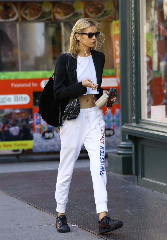 Stella Maxwell - Out in NYC 10/12/2018