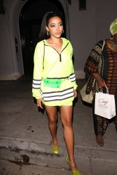 Tinashe Night Out Style - West Hollywood 10/01/2018