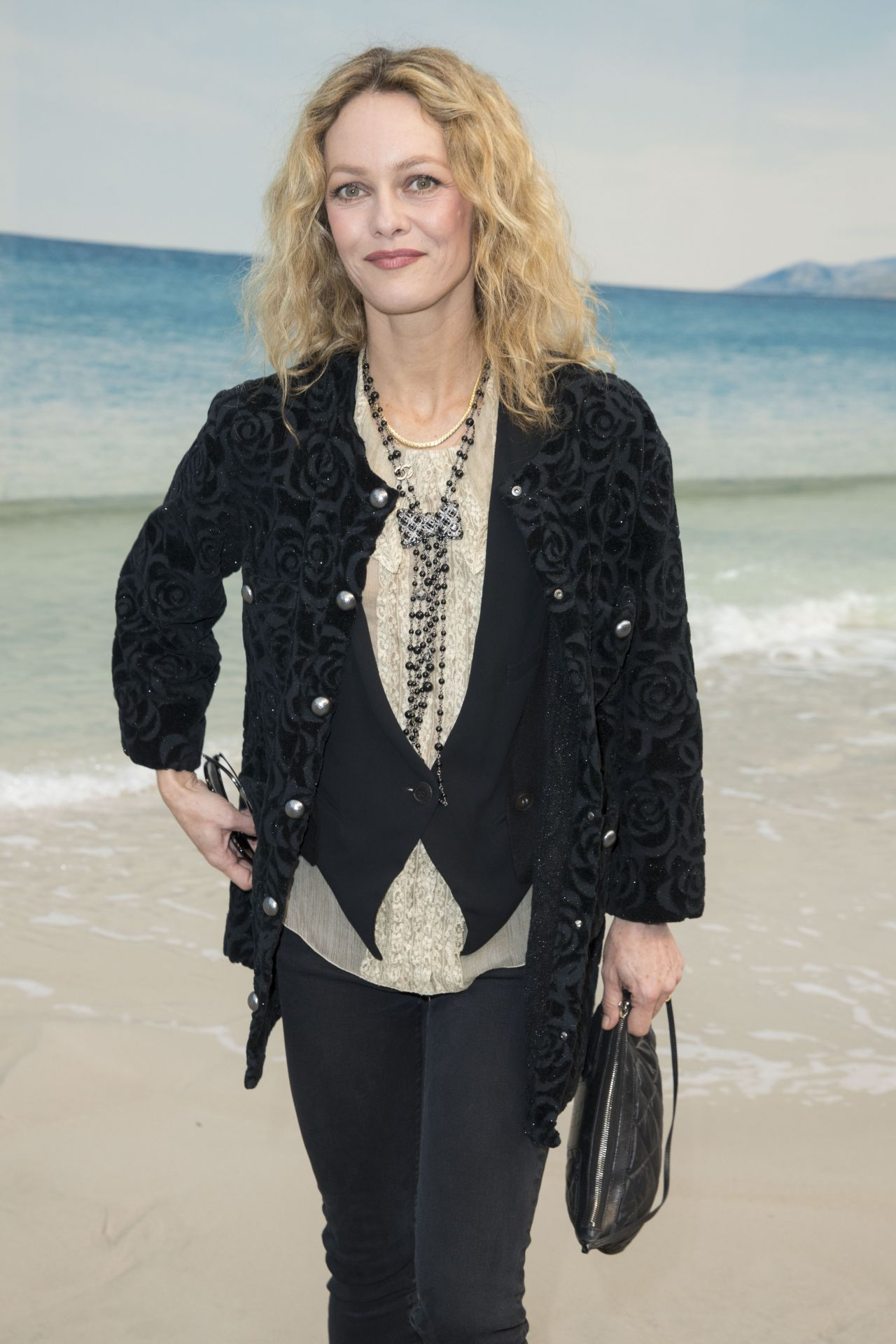 Vanessa Paradis Chanel Collection Show At Paris Fashion