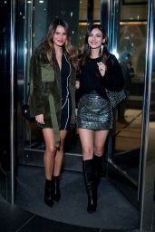 Victoria Justice and Madison Reed Night Out Style - NYC 10/17/2018