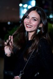 Victoria Justice is Looking All Stylish - NYC 10/17/2018