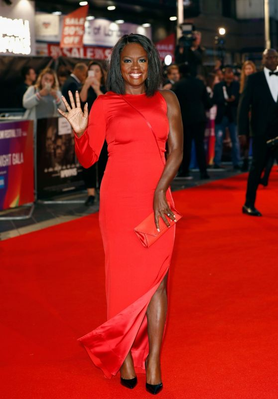 "Viola Davis – ""Widows"" Europe Premiere and Opening Night Gala of the 62nd BFI London Film Festival"