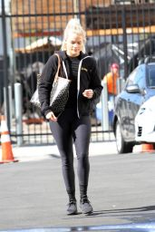 Witney Carson - Outside DWTS Rehearsal Studios in LA 10/20/2018