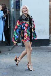 Zara Larsson Arriving at Global Radio Studios in London 10/16/2018