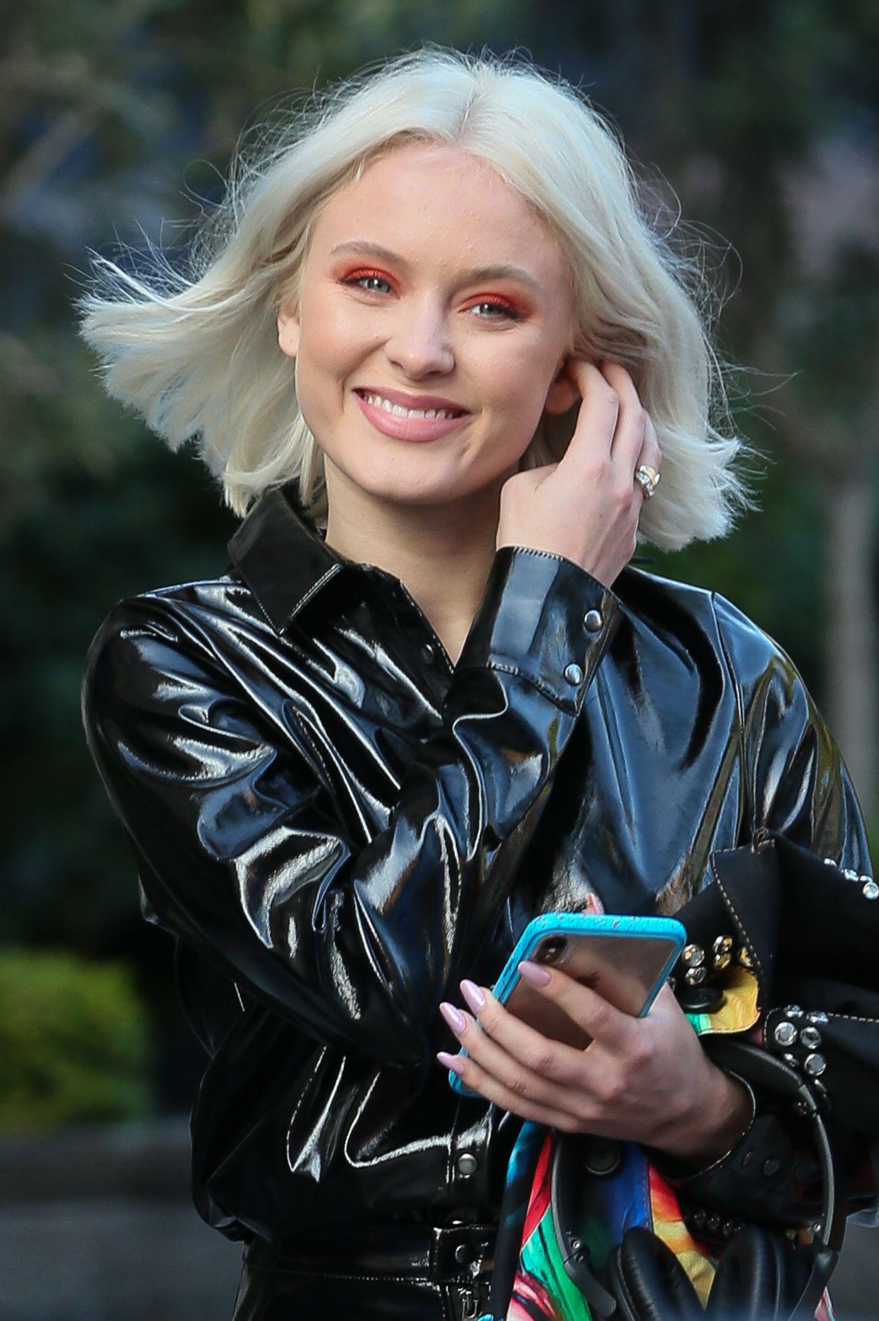 Zara Larsson Arriving at Global Radio Studios in London 10 ...