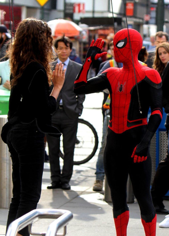 "Zendaya Coleman – ""Spider-Man: Far from Home"" Set in New York 10/12/2018"