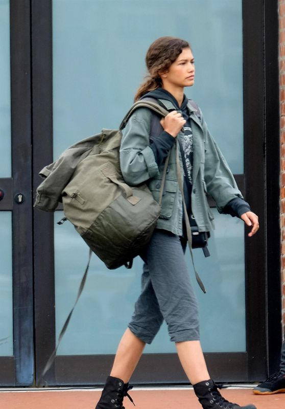 "Zendaya - On the Set of ""Spider-Man: Far From Home"" in Venice 09/30/2018"