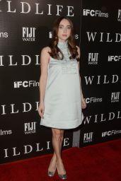 "Zoe Kazan - ""Wildlife"" Premiere in Los Angeles"