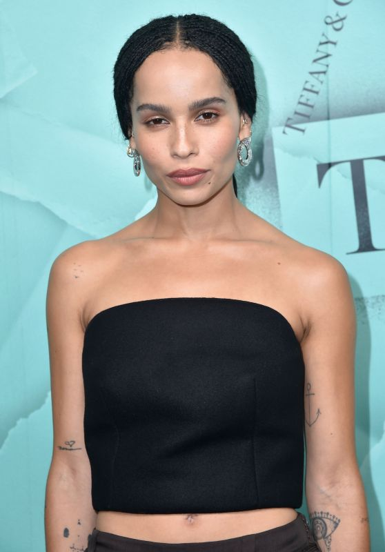 Zoe Kravitz – 2018 Tiffany Blue Book Collection in NYC