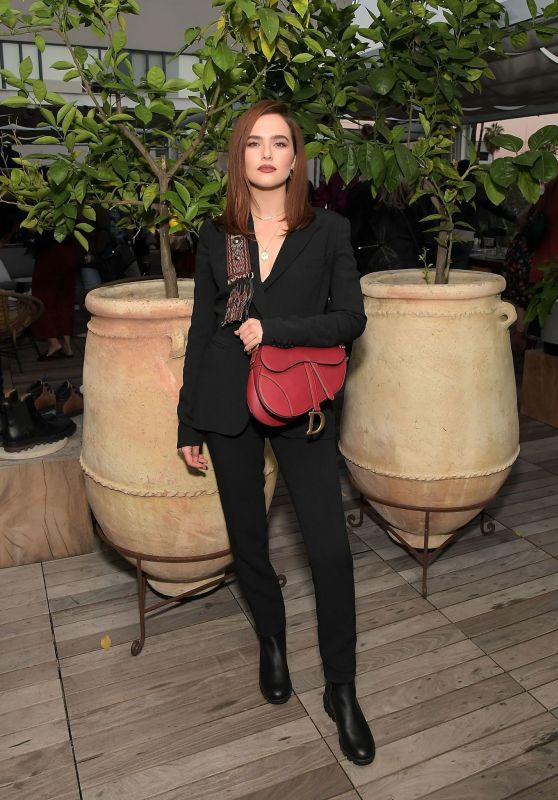 Zoey Deutch - SOREL x LadyGang Fall Podcast + Party in LA