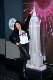 Adriana Lima at the Empire State Building 11/07/2018