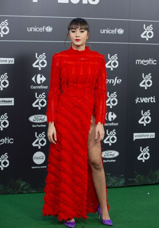 Aitana – LOS40 Music Awards 2018 in Madrid