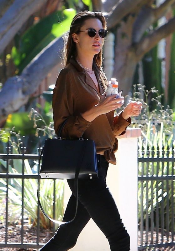 Alessandra Ambrosio Heading to a Meeting in West Hollywood 11/14/2018