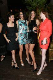 Alessandra Ambrosio – Michael Kors x Kate Hudson Dinner in LA 11/07/2018