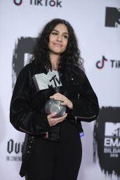Alessia Cara – MTV EMA's 2018 in Bilbao