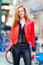 Alexina Graham – 2018 Victoria's Secret Fashion Show Fittings in NYC 11/03/2018
