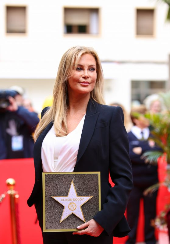 Alison Doody at the Opening Ceremony of Her Star on the Almeria Walk of Fame 2018 11/21/2018