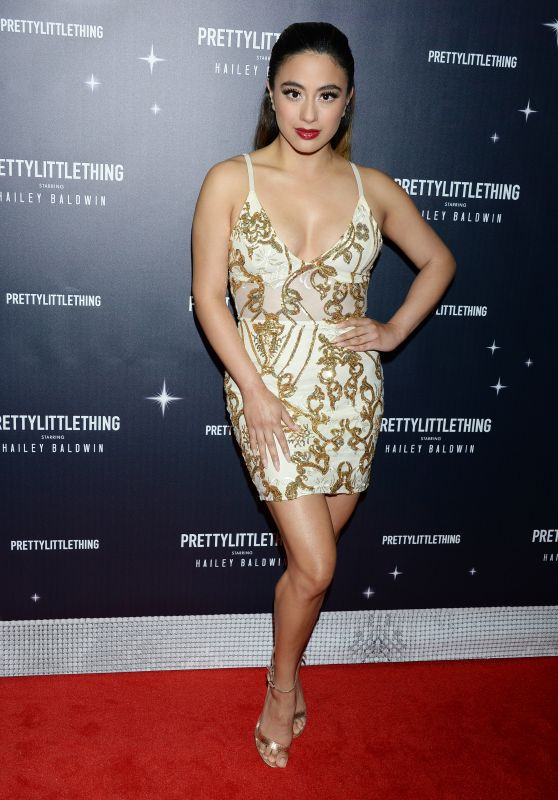 Ally Brooke – PrettyLittleThing x Hailey Baldwin Event in LA 11/05/2018
