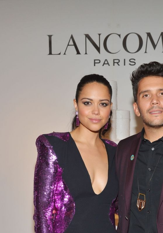 Alyssa Diaz – Lancome x Vogue Holiday Event in West Hollywood