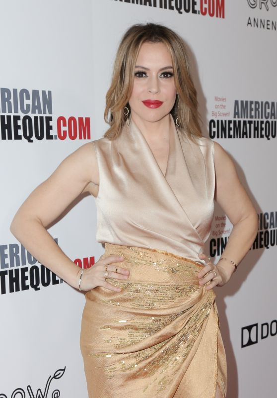 Alyssa Milano - 2018 Cinematheque Award Presentation