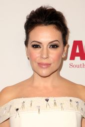Alyssa Milano – ACLU Bill of Rights Dinner in LA