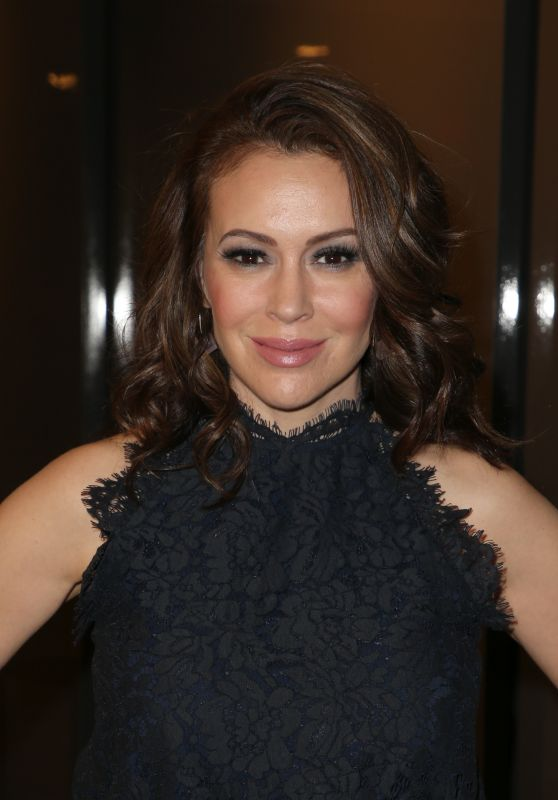 Alyssa Milano - TheWrap's Power Women's Summit 11/01/2018