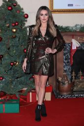 """Amber Davies – """"Surviving Christmas With The Relatives"""" World Premiere in London"""