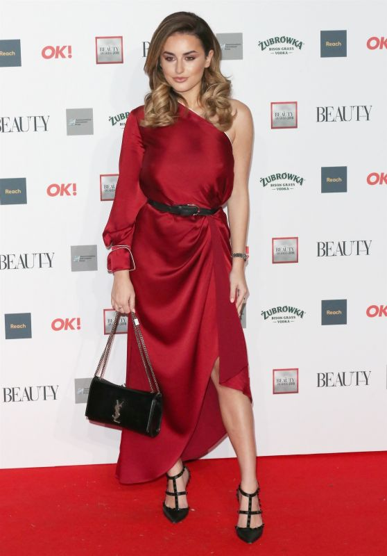 Amber Davies – The Beauty Awards 2018 in London