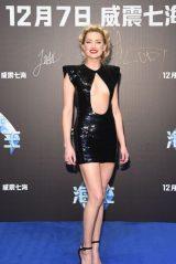 Amber Heard - Aquaman Premiere in Beijing