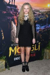 "Amiah Miller – ""Mowgli"" Premiere in Hollywood"