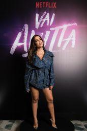 Anitta - Netflix Vai, Anitta! Press Conference in Sao Paulo