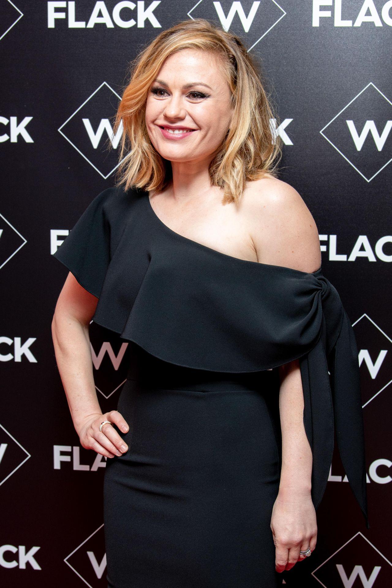 "Anna Paquin - ""Flack"" TV Show Premiere in London Anna Paquin"