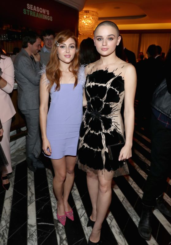 AnnaSophia Robb and Joey King - 2018 Hulu Holiday Party in LA