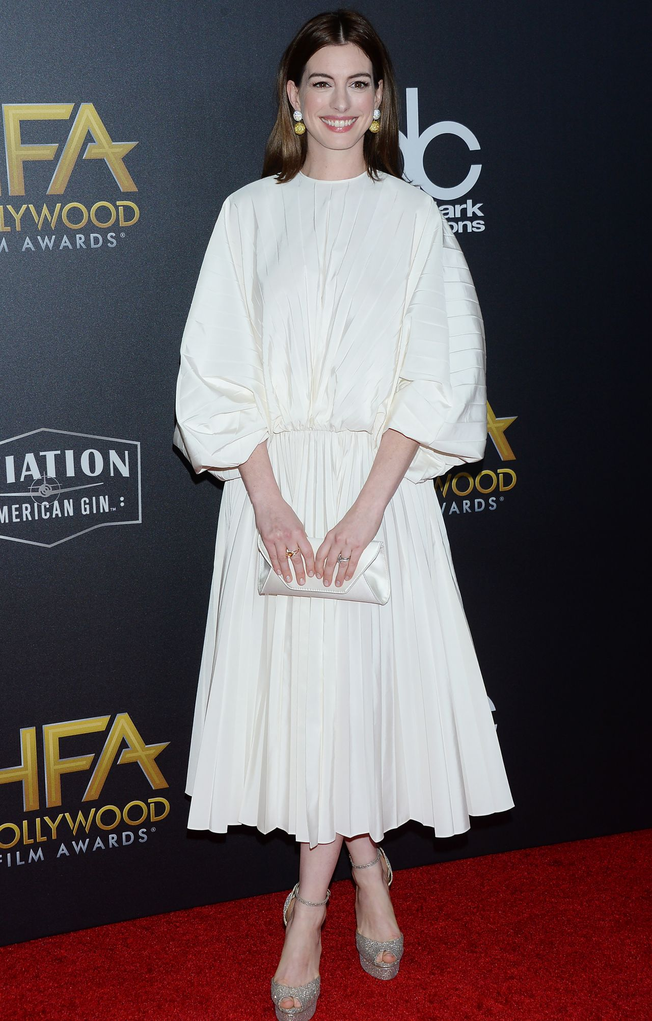Anne Hathaway 2018 Hollywood Film Awards In La