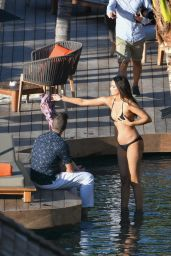 April Love Geary in Bikini - Photoshoot in St. Barts, October 2018