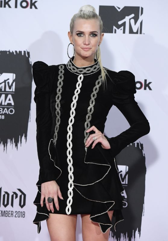 Ashlee Simpson – MTV EMA's 2018 in Bilbao