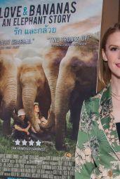 "Ashley Bell - ""Love and Bananas An Elephant Story"" Screening in NY"