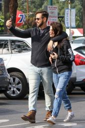 Ashley Greene and Husband Paul Khoury - Grocery Shopping in LA 11/21/2018