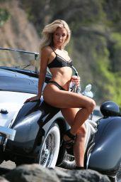 Aubrey Evans Bikini Photoshoot for 138 Water in Malibu 11/06/2018