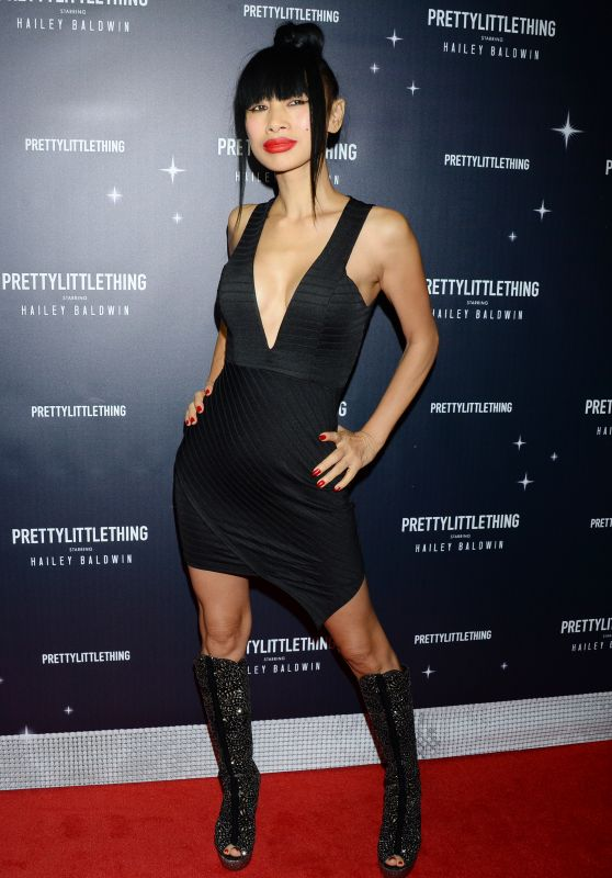 Bai Ling – PrettyLittleThing x Hailey Baldwin Event in LA 11/05/2018