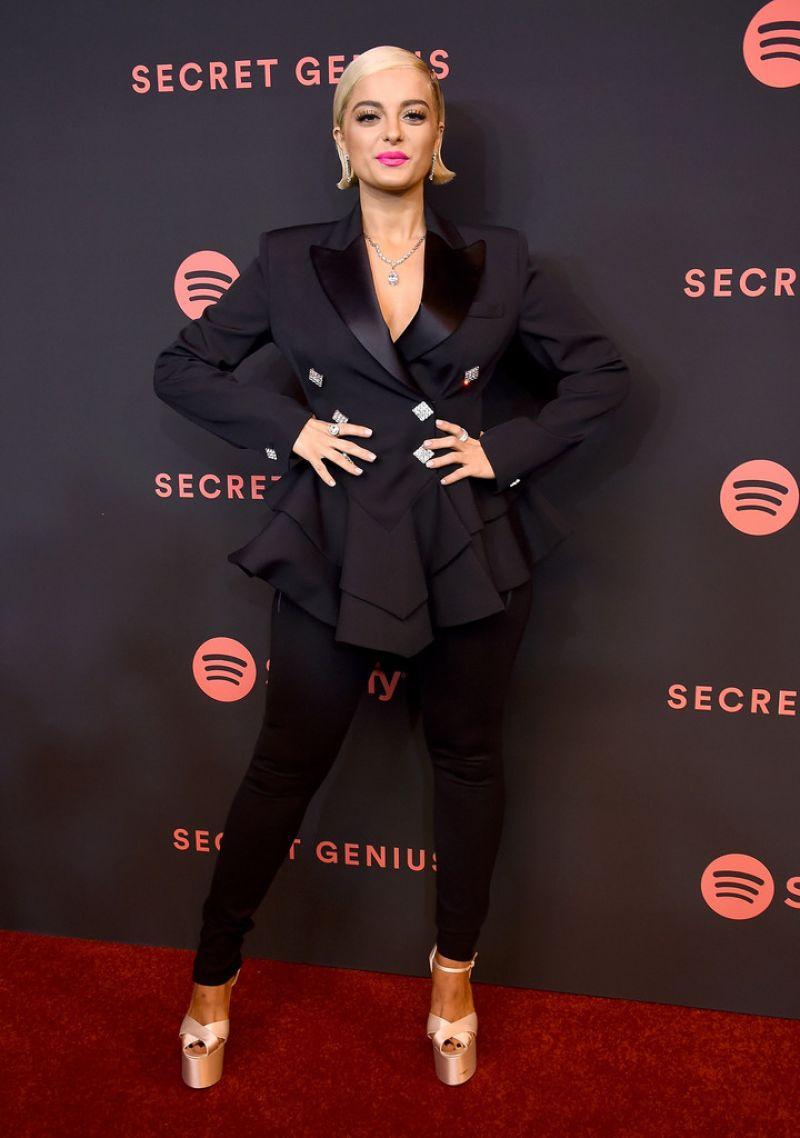 Bebe Rexha 2018 Spotify S Secret Genius Awards