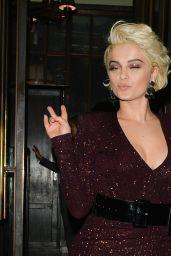 Bebe Rexha - Leaving The Ivy Kensington in London 11/23/2018